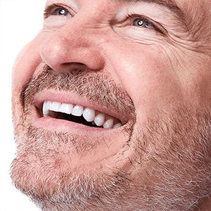 visage homme sourire